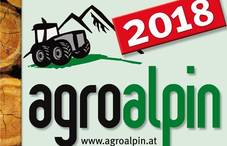 Besuchen Sie uns auf der Agro Alpin in Innsbruck von 8. – 11.  November 2018
