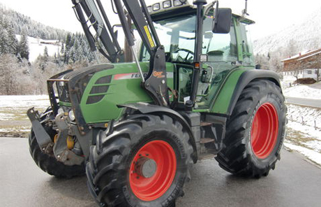 Traktor|Fendt 309 Vario + Hauer POM-S 90