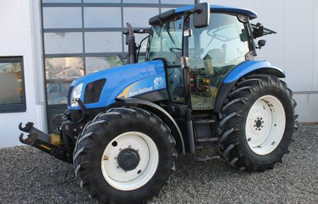 Traktor|New Holland TS 100A + FH+FZW