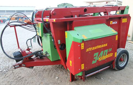 Fütterungstechnik | Strautmann | Siloblitz SA 340 Silokamm