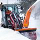 Anbaufräsen für die Schneeräumung