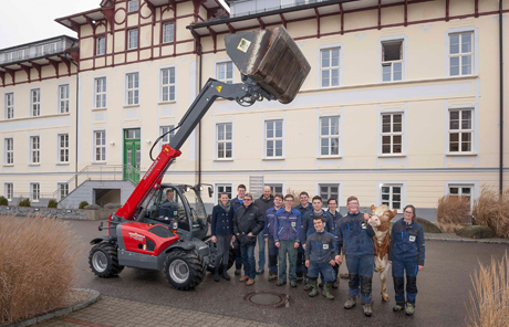 Weidemann 4512T- Landwirt. Fachschule Otterbach in St. Florian am Inn