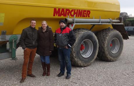 Marchner 18.500l Polyester Pumpfass – Lohnunternehmen Gneissl aus Ottnang