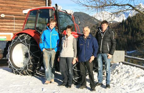 Familie Rettensteiner aus Forstau