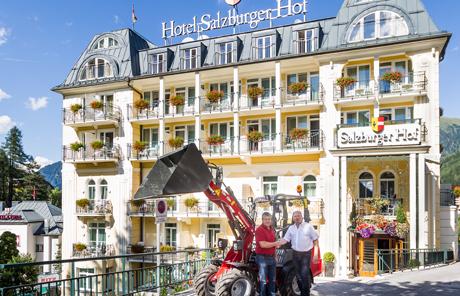 Weidemann 1160 – Hotel Salzburgerhof in Bad Gastein