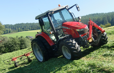 MF 5608 + Fella TS 601 DN –  Michael Neumann in Tamsweg