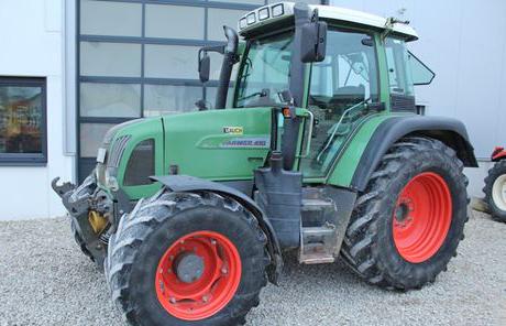 Fendt Farmer 410 Vario 50km/h + FH+FZW