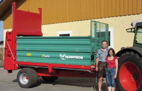 Farmtech Superfex 600 Miststreuer – Familie Kreiml in Edt bei Lambach