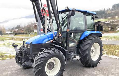 New Holland L65 DT + FL+ FH+FZW