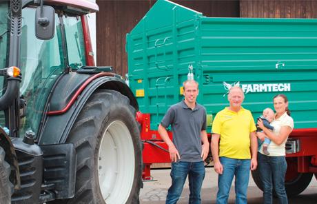 Farmtech TDK 16to Tandemkipper – Familie Reich aus Reichersberg
