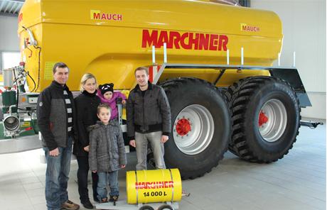 Marchner Kunsstoffass 14.000l – Familie Mangelberger aus Munderfing