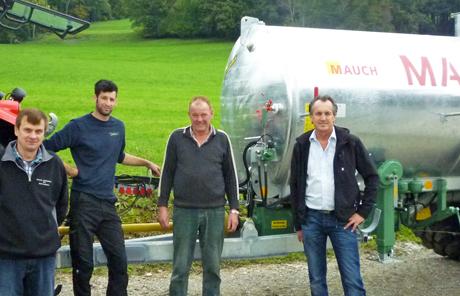 Marchner 8000l Pumpfass – Franz Schindlauer aus Oberwang
