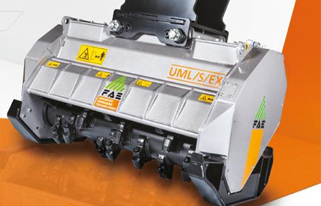 FAE präsentiert neuen Bagger-Mulcher