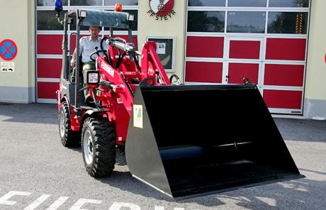 Weidemann 1355 CX45 SKA – Freiwillige Feuerwehr Steyr