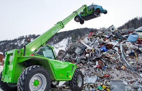 Merlo P 34.10 Plus  – Wilding Recycling & Handels GmbH in Radstadt