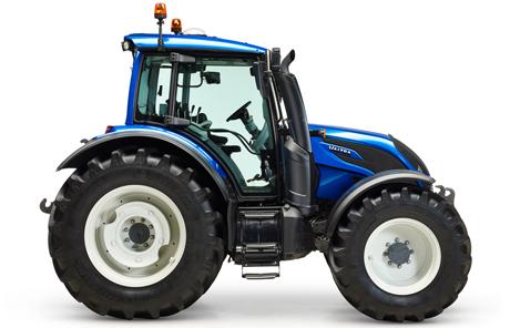 Valtra N 114 e im  Top Agrar Praxistest