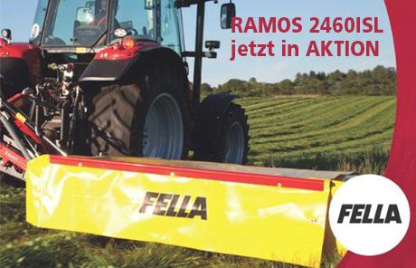 Fella Aktion Scheibenmähwerk RAMOS 2460 ISL
