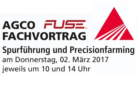 Fachtag Spurführung und Precisionfarming am 02. März 2017