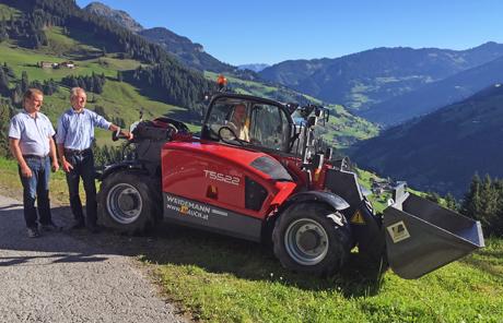 Weidemann T5522 – Bergbahnen Grossarl