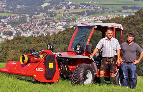 Vigolo Mulcher TK 200 – Dr. Georg Angerer aus Bad Dürnberg