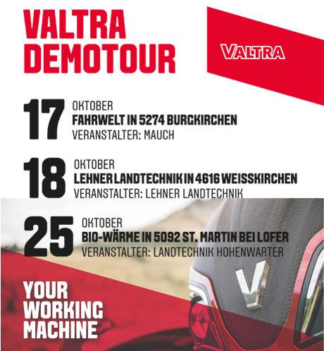 Valtra Demotour 2017