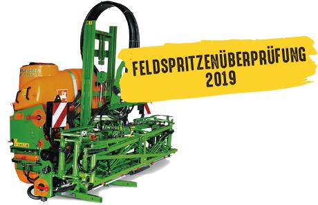 Feldspritzen-Überprüfung 2019