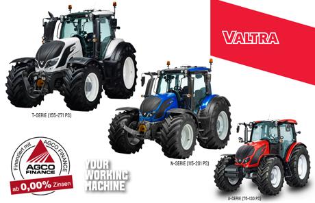 Valtra Edition Österreich Sonderpaket