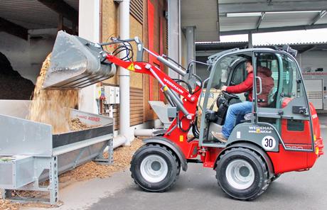 Weidemann 1280 Industrie – Firma Hargassner in Weng im Innkreis