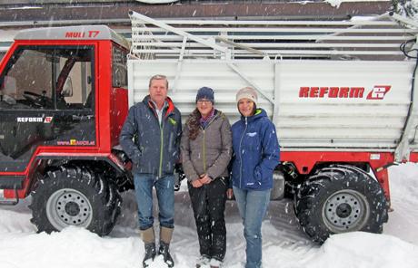 Reform Muli T7 – Familie Schwaighofer aus Kleinarl