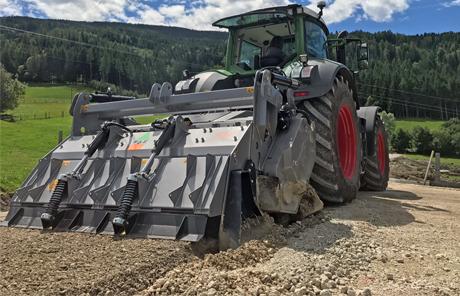 FAE Stabifräse MTH 225 – AK-Erdbau in Irdning, Donnersbachtal
