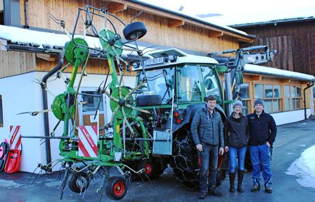 Fendt Twister 6606 –  Doris und Johann Inhöger aus Bad Hofgastein