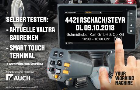 Valtra Smart Tour 2018 – Aschach/Steyr