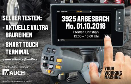 Valtra Smart Tour 2018 – Arbesbach