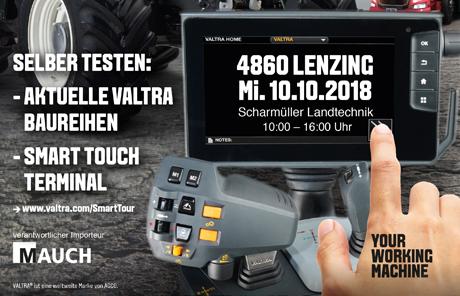 Valtra Smart Tour 2018 – Lenzing