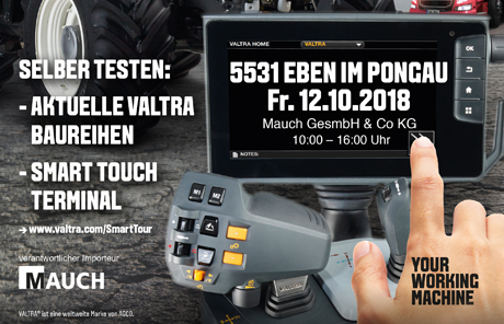 Valtra Smart Tour 2018 – Eben im Pongau