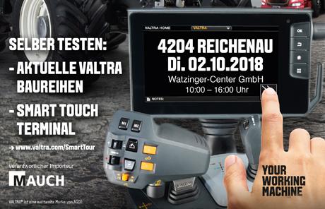 Valtra Smart Tour 2018 – Reichenau