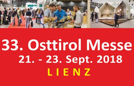 Osttiroler Messe Lienz von 21. bis 23. September 2018