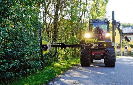 GreenTec HXF Multiträger – Gemeinde Henndorf am Wallersee