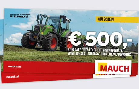 € 500,- Gutschein