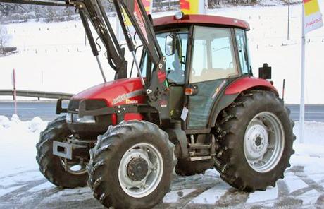 Case IH JX 90 + Hydrac FL EK2200