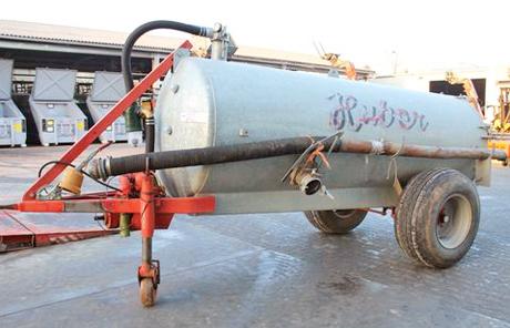 Huber 4500L Güllefass MEC 5000