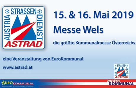 Astrad Kommunalmesse von 15. – 16. Mai 2019