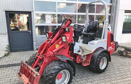 Weidemann 1375CX50 mit Euro