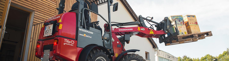 Weidemann 1160 E-Hoftrac
